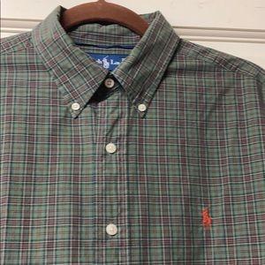 Ralph Lauren classic fit Men's  button down size L